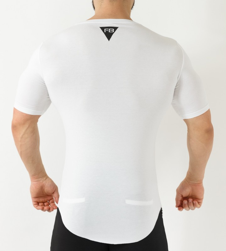 FB Style Shirt - White T- SHIRTS  28,00 €