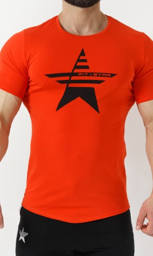 Q-Tahi T-Shirt - Rosso Corallo Home 28,90 €