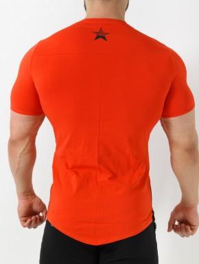 Q-Tahi T-Shirt - Rosso Corallo