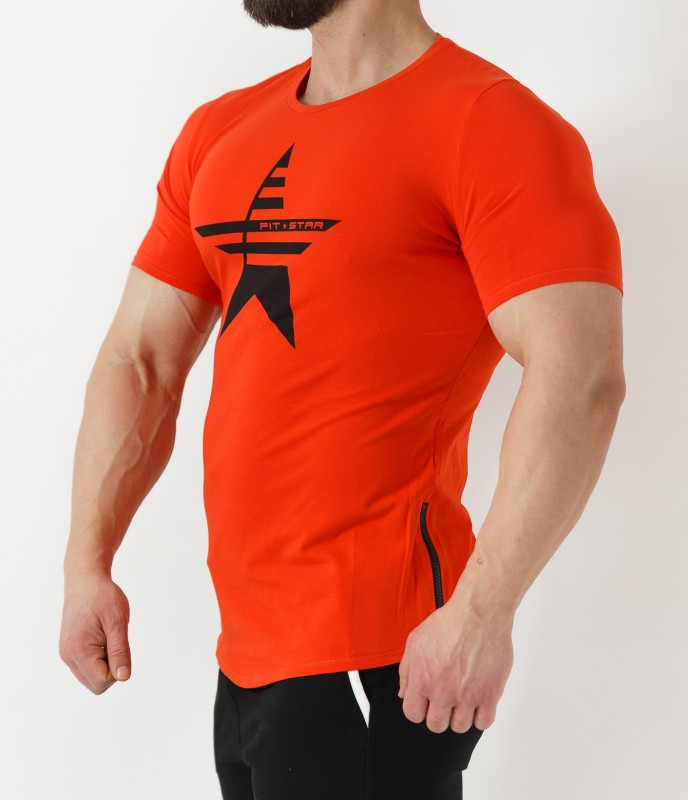 Q-TAHI T-SHIRT - RED Coral Home 28,90 €