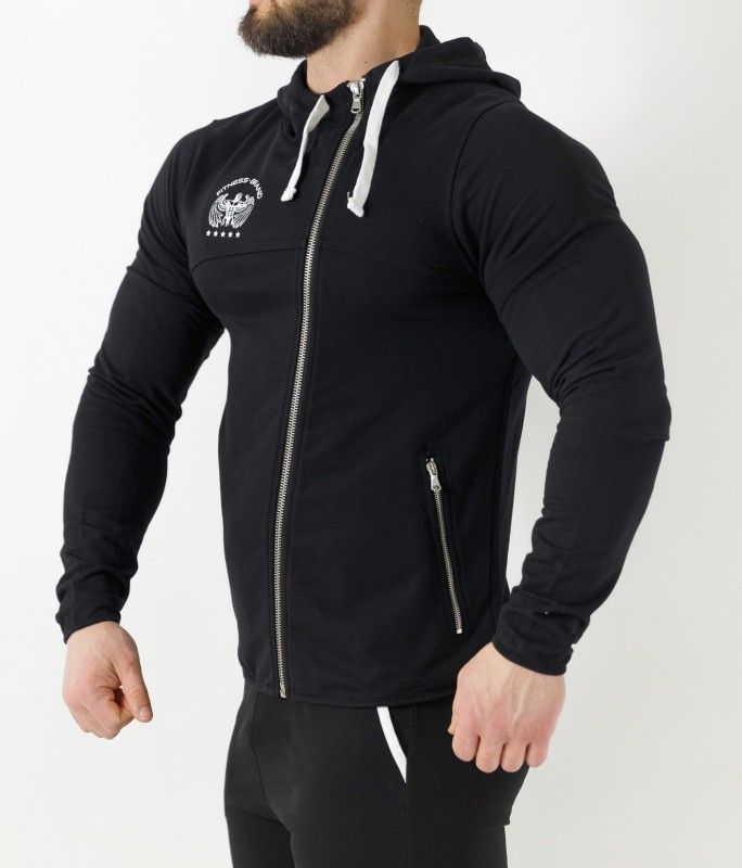 SWEATSHIRT NOVAC - BLACK HOODIES 43,99 €