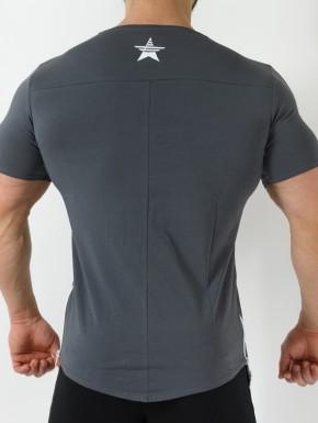 T-Shirt Q-Tahi Grigio Scuro