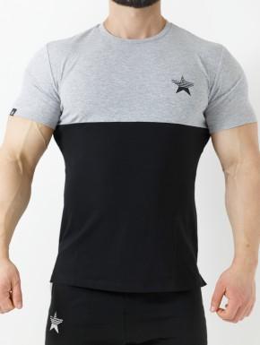 T-Shirt Kyros Grey&Black