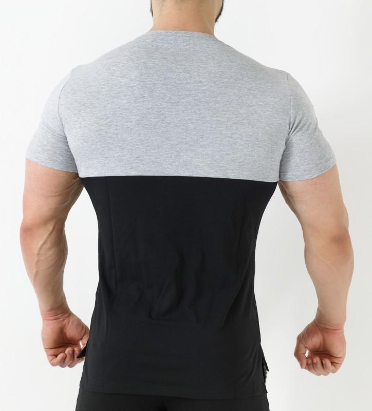 T-Shirt Kyros - Grigio&Nero Home 32,00 €