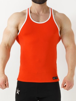 SERONI STRINGER RED CORAL&WHITE