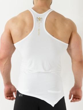 Singlet Fit Brand - White