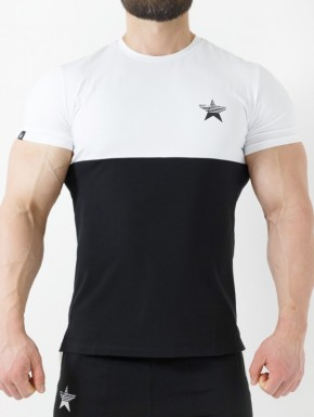 T-Shirt Kyros - White&Black