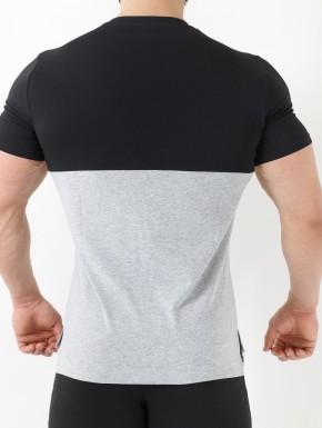 T-Shirt Kyros - Nero&Grigio