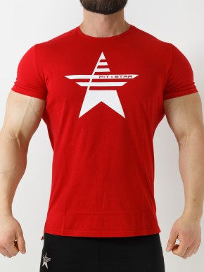 T-Shirt Jeraddo  - Rosso