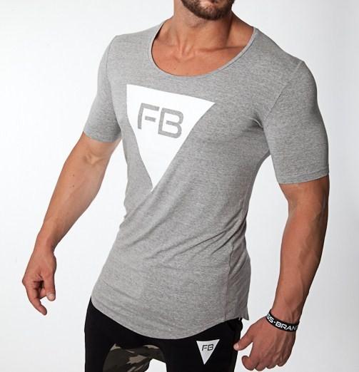 T-SHIRT FB STYLE - GREY T- SHIRTS  28,00 €