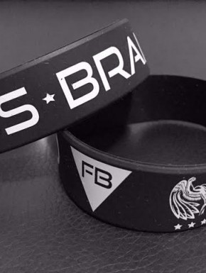 FITNESS BRAND BRACELET - BLACK. ACCESSORIES 5,00 €