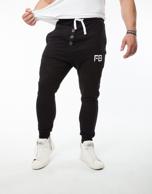 Soft Argo Joggers - Black PANTS & JOGGERS 44,00 €