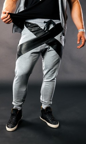 Borg Prime Jogger - Grey PANTS & JOGGERS 43,00 €