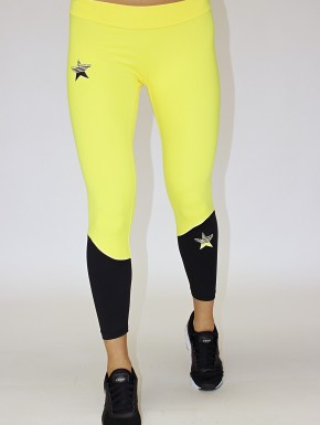Irina Legging - Yellow&Black