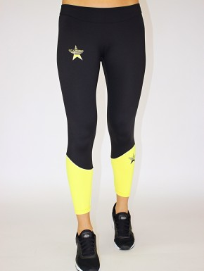 Irina Legging Black&Yellow Women 39,00 €