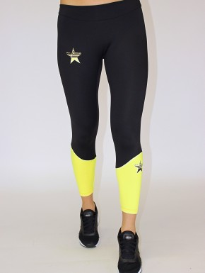 Irina Legging Black&Yellow