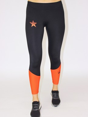 Irina Legging Black&Coral Red Women 39,00 €