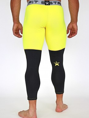 RAKOSA LEGGINGS YELLOW&BLACK