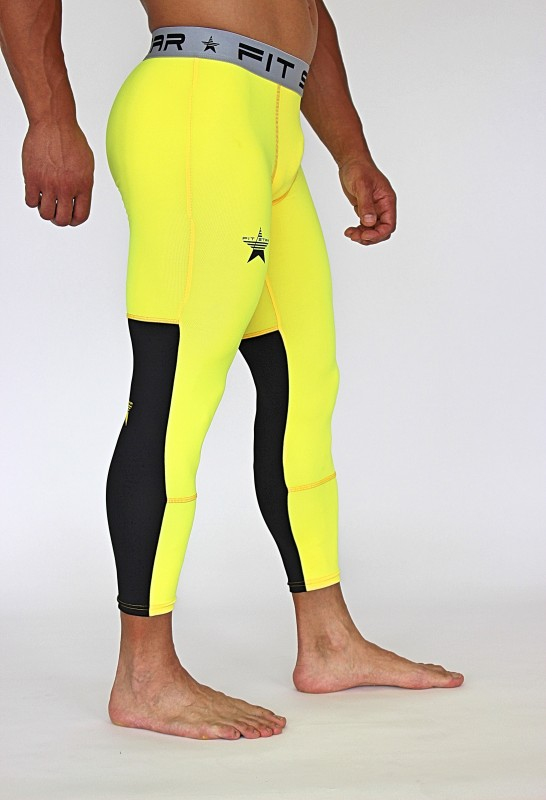 RAKOSA LEGGINGS YELLOW&BLACK Home 39,90 €