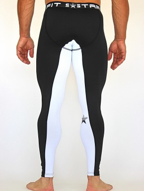 DAKALA LEGGINGS - NERO&BIANCO